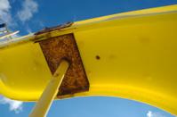 Slides the yellow slide