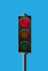 traffic light - stop signal