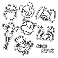 Cute animal card
