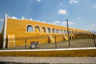 Franciscan monastery in Izamal,Yucatan,Mexico