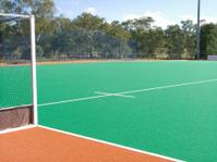 astroturf hockey field