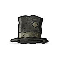 e9c94e0dc017d Cartoon Top Hat Stock Vector - FreeImages.com