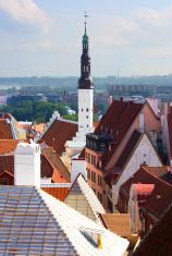 Tallinn. The Church Of The Holy Spirit.