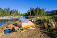 Wilderness Camping, Yukon, Canada