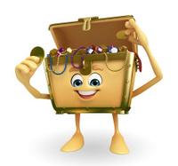 Treasure box character