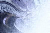 Blue luminous background, linen texture, bright festive backgrou