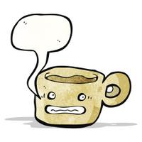 anxious coffee mug cartoon