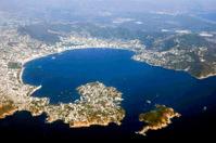 Aerial view of Acapulco, Mexico