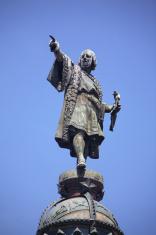 Cristofor Colom monument in Barcelona