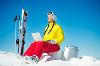 Mobile device for low temperatures