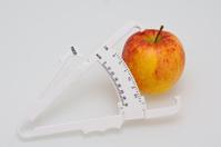 Fat Caliper an Apple