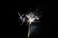luminous fireworks
