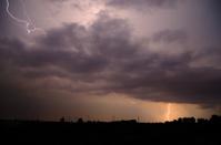 wind turbines with large lightning