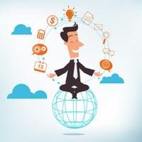 Balancing Act - Business Concept