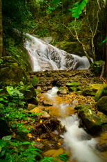 Waterfall in Chiangmai , Thailand