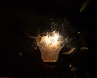 light bulb explosion