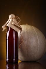 Pumpkin ale bottle