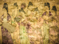 Tang Dynasty fresco