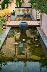 Spanish feeling garden