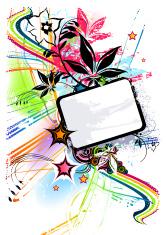 Colour Burst Frame