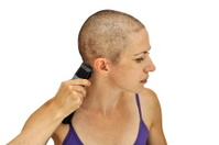 Girls shaved heads Kolbovs among