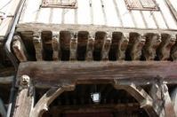 Carved beam
