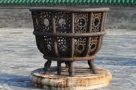 Feuerkorb vom Lama Tempel in Peking