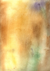 Brown watercolor abstract background