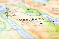 saudi arabia country on map