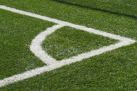 soccer turf corner