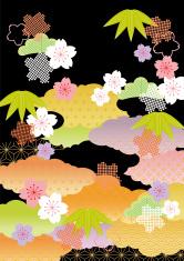 beautiful illustration of Japan