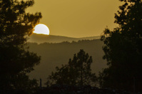 Sunset in The Sierra de Guadarrama, Spain