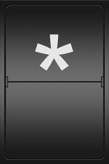 asterisk on a mechanical leter indicator