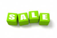 Sale Green Cubes