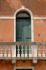 green door, Venice, Italy