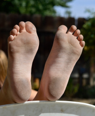 Dirty Boy Feet