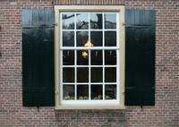 bricks and window