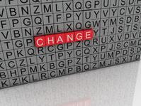 3d imagen Change concept word cloud background