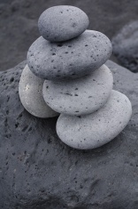 Pebbles pile