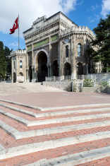 Main gate of Istanbul University in Beyazit