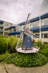 Miniature Windmill in Amsterdam