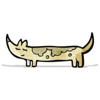 cartoon little dog