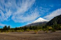 Osorno Volcano viewed from Lago Todos Los Santos, Chile
