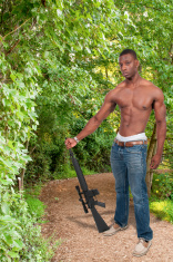 Man with Assault Rifle
