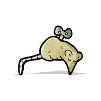cartoon clockwork mouse