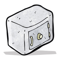cartoon safe