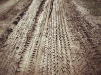 Wheel tracks