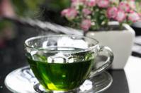 Green Tea - Stock Image