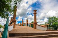 bridge over river city in Nakhon Si Thammarat.