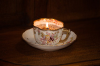 Tea Cup Candel
